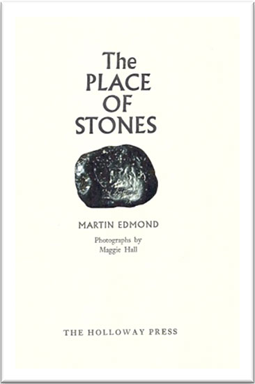 The Place of Stones - title page